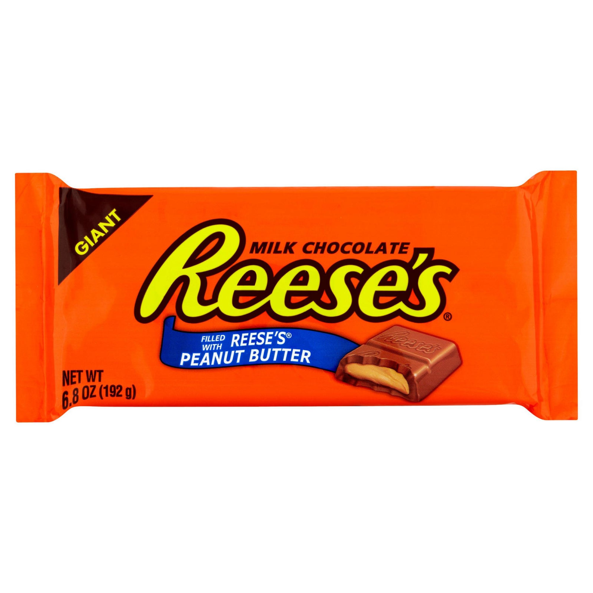 Reese's Peanut Butter Cup Giant Candy Bar - 6.5 Oz