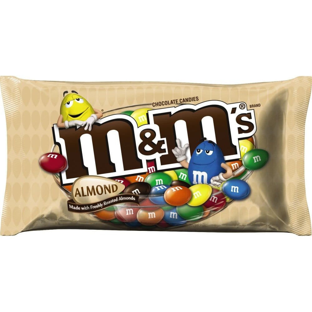 M&M'S Almond Chocolate Candy Sharing Size 9.3-Ounce