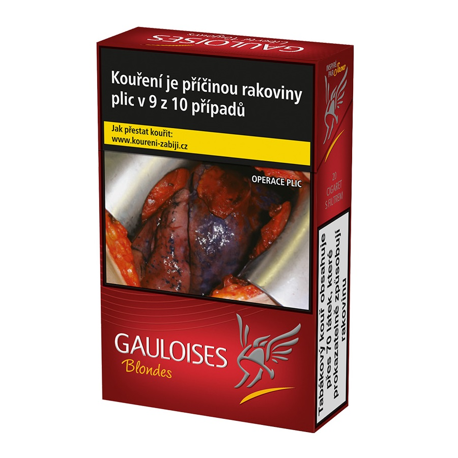 Tobacco Gauloises Blondes Red 200